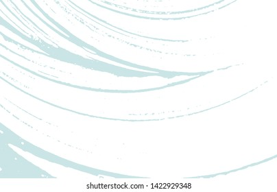 Grunge texture. Distress blue rough trace. Dazzling background. Noise dirty grunge texture. Brilliant artistic surface. Vector illustration.