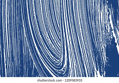 Grunge texture. Distress indigo rough trace. Excellent background. Noise dirty grunge texture. Uncommon artistic surface. Vector illustration.