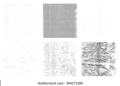 grunge texture overlay backgrounds, vector illustration