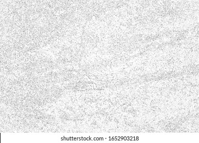 Grunge texture of an uneven surface with noise, roughness, and grain. Abstract background. Urban style. Vector illustration. Overlay template.