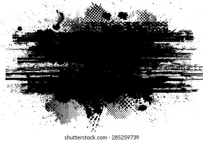 Grunge Urban Background.Texture Vector.Dust Overlay Distress Grain ,Simply Place illustration over any Object to Create grungy Effect .abstract,splattered , dirty,poster for your design.