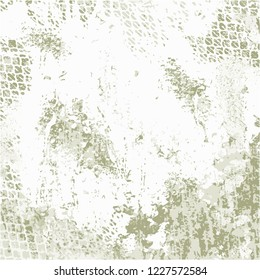 Grunge Urban Vector Texture Template. Colorful Messy Dust Overlay Pattern Sample. Distress Background. Abstract Dotted, Scratched, Vintage Effect With Noise And Grain