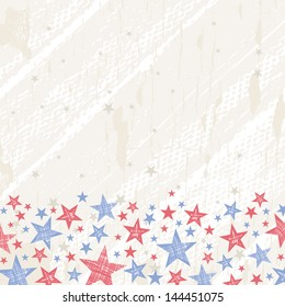 grunge usa background, vector illustration