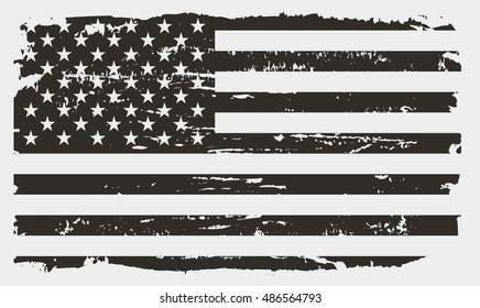 Grunge USA flag.amerikansk flagg.vektor mal.