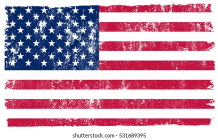 Attractive American Flag Grunge Stock Vectors, Images & Vector Art | Shutterstock SZ38