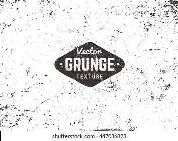 Grunge vector background texture. Grain noise distressed texture.