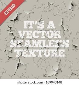 Grunge Vector Seamless Texture.