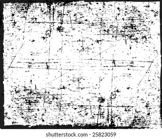 Grunge vector texture can also be used as a frame
