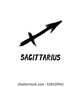 Grunge Zodiac Signs - Sagittarius - The Archer