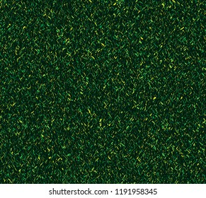 grungy green grass vector texture tile. repeating endless rough green and yellow colors in a grass texture for textile, fabric, backgrounds and creative surface designs. pattern swatch at eps. file