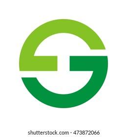 GS initial logo