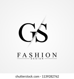 GS letter logo icon