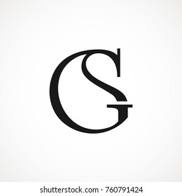 GS Luxury Logo For Company