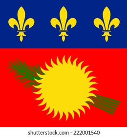 Guadeloupe Flag Red Variant