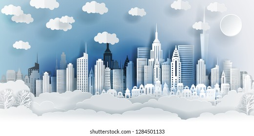 3d Paper Buildings Stock Vectors, Images & Vector Art