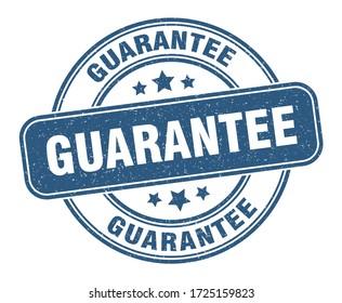 guarantee stamp. guarantee label. round grunge sign