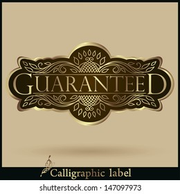 Guaranteed Label