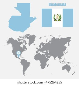 Guatemala Map Images, Stock Photos & Vectors | Shutterstock