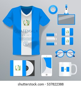Guatemala : National Corporate Products : Vector Illustration