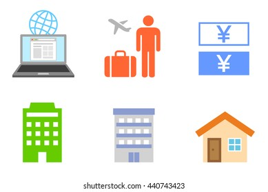 Guest houses icon
