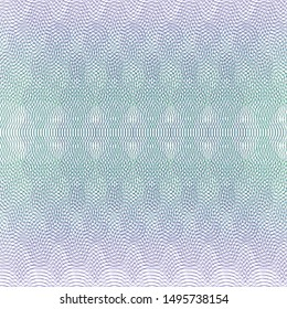 Guilloche background for certificate, watermark security design