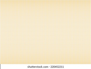 Guilloche Background Pattern For Certificate Vector Illustration