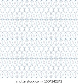 Guilloche lines  background for certificate, diploma, Watermark element design,