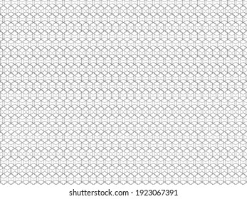 Guilloche pattern. Digital watermark, gradient. Security design Vector illustration Moire ornament. Monochrome guilloche texture with waves. Original money background.