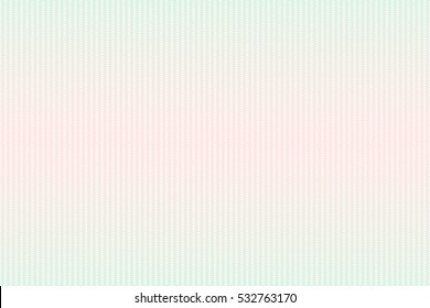 Guilloche seamless background. Guilloche texture with waves in green and red color. Digital watermark for Security Papers, certificate, voucher, banknote, money design, currency, note, check etc.