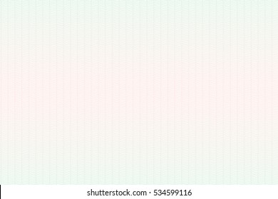 Guilloche seamless background. Guilloche texture with waves in green and red color. Digital watermark for Security Papers, certificate, voucher, banknote, money design, currency, check, ticket etc