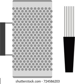 Guira metal vector
