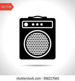 guitar amplifier icon