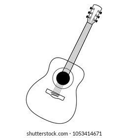 Guitar Drawing Images Stock Photos Vectors Shutterstock