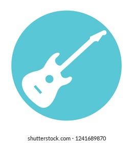 Guitar Electric Flaticon vector