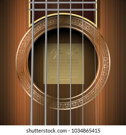 guitar hole vector icon