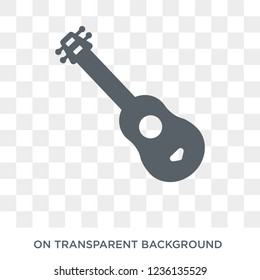 Guitar icon. Guitar design concept from collection. Simple element vector illustration on transparent background.