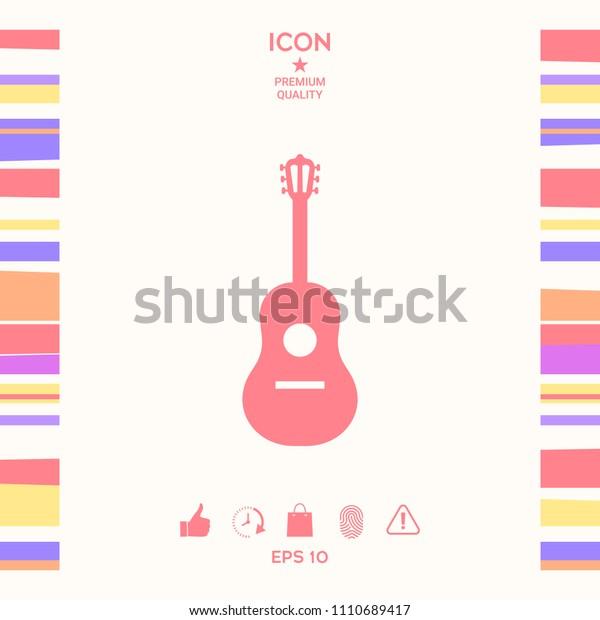 Guitar icon symbol
