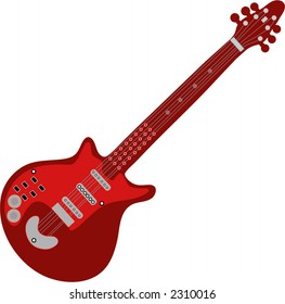 guitar isolated