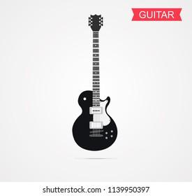 guitar The joy of music Using the designer vector