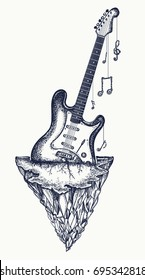Guitar Tattoo Images Stock Photos Vectors Shutterstock