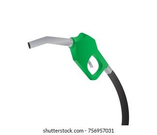 gun petrol vector illustration