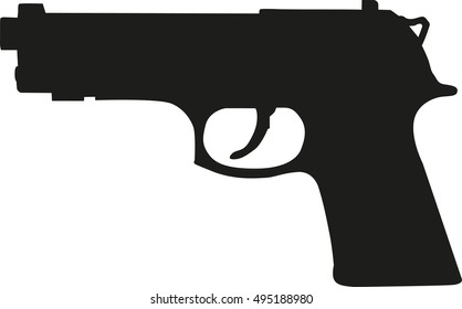 Gun Silhouette Images Stock Photos Vectors Shutterstock Choose from 66000+ gun silhouette graphic resources and download in the form of png, eps, ai or psd. https www shutterstock com image vector gun pistol silhouette 495188980