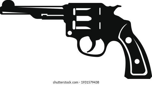 Gun vector art and illustration