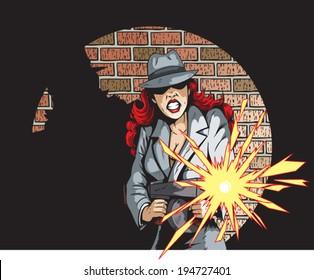 Gunning Gangster Gal