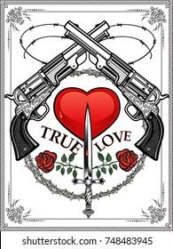 Guns and Death Love