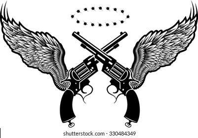 guns and wing