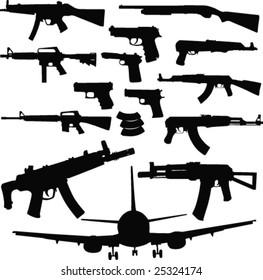 Guns-vector