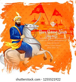 Guru Gobind Singh Jayanti festival for Sikh celebration