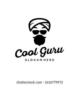 Guru Logo Design Vector Template