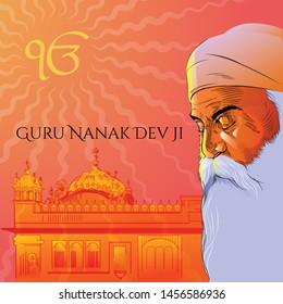 Guru Nanak Dev Ji was the founder of Sikhism and the first of the ten Sikh Gurus.